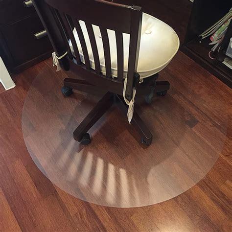 transparent wood floor protection mat pvc plastic