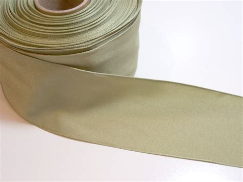 sage green wired ribbon 2 1 2 inches wide x 8 yards wide