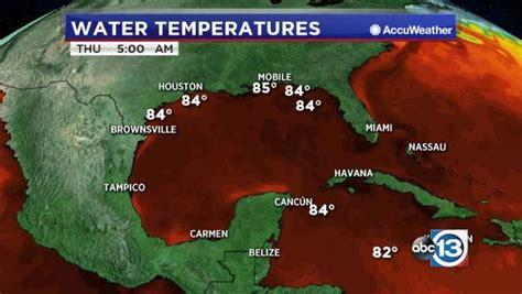 gulf  mexico water temperature abccom