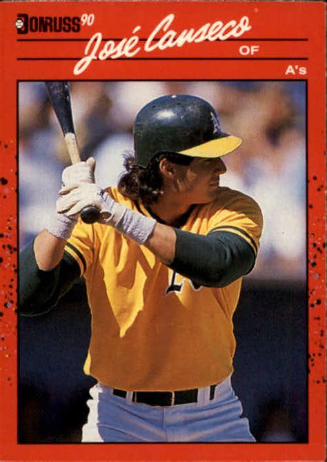 Jan 02, 2012 · baseball cards of a shirtless jose canseco were worth $20 or more. 1990 Donruss Jose Canseco #125 Baseball Card   eBay