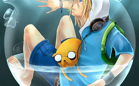 Most Popular Anime Wallpaper - advanture time anime finn