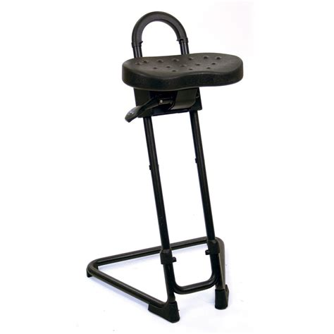 lyon ergonomic industrial sit stand stool
