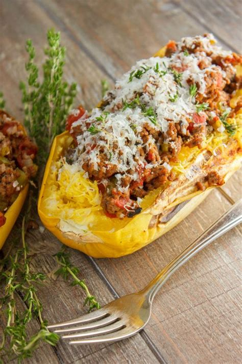 different meals to make with ground beef stuffed spaghetti squash with tomato and ground beef recipe stuffed spaghetti squash
