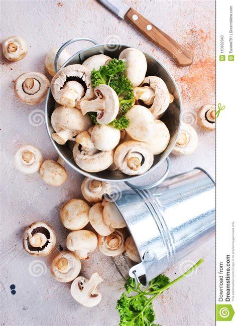 Champignons arkivfoto. Bild av ingrediens, medf8ort ...