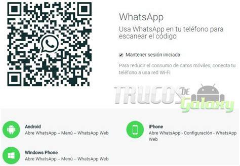 Como Usar Whatsapp Web Sin Celular