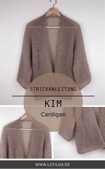 Strickjacke Lotilda Sommer Stricken Cardigan Kim Pattern