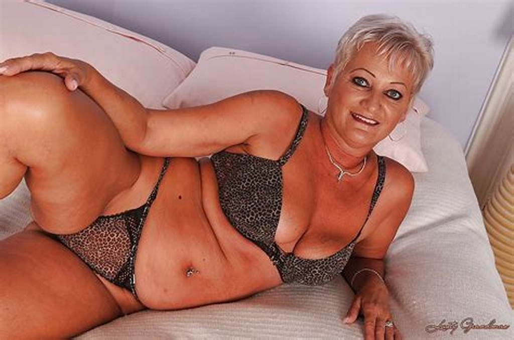 #Short #Haired #Granny #Taking #Off #Her #Lingerie #And #Exposing