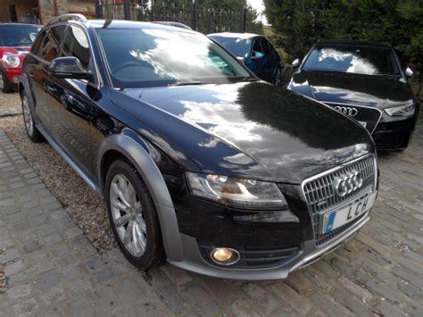 Audi A4 Allroad Tdi Quattro Diesel Estate 6 Speed Black