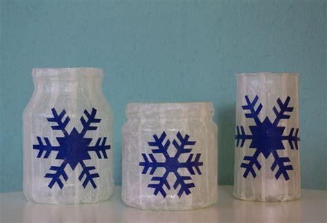 windlichter basteln windlichter schneeflocken weihnachten basteln selber
