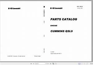 Kawasaki Wheel Loader 85zv-2 Full Manuals En