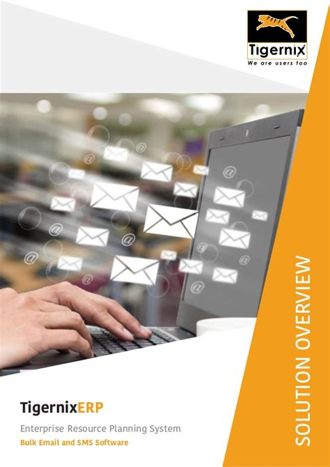 overview  bulk email  sms module  erp system