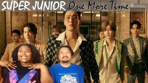 Super Junior X Reik One More Time (otra Vez) Mv Reaction
