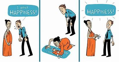 Happiness Comics Think Comic Teach Thing Demilked