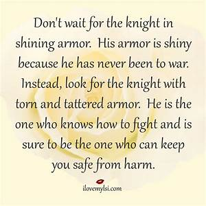 Knight in shining armor | Armors, Knights and The One