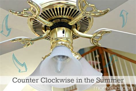 ceiling fan clockwise or counterclockwise for summer which way should a ceiling fan turn in the summer