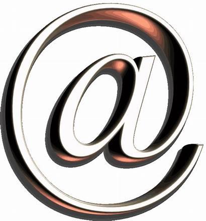 Simbolo Arroba Mail Giphy Nic Symbol Sticker