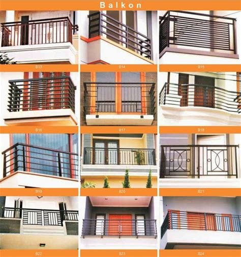tips menciptakan pagar balkon rumah minimalis rumah