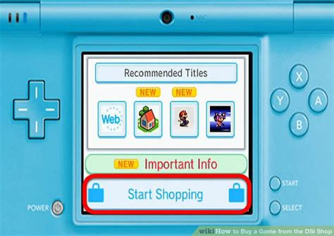How To Buy A Game From The Dsi Shop 9 Steps (with Pictures