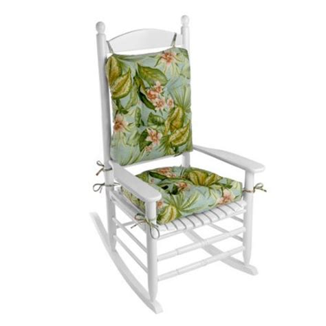 walmart rocking chair cushion set klear vu outdoor 2 porch rocking chair cushion set