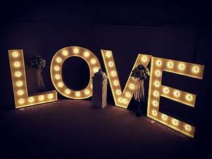 illuminated love pyaar letters With illuminated love letters