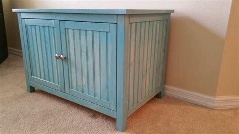 custom litter box cabinets aqua large odor free custom hand made in usa wood cat
