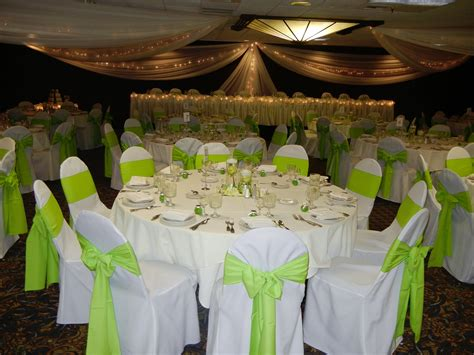Golden wedding tableware castrophotos wedding decoration ideas white and green gallery wedding junglespirit Gallery