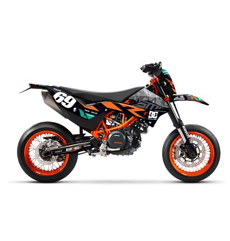 camo ktm 690 smc effetti racing mx graphics grafiche motocross the of moto