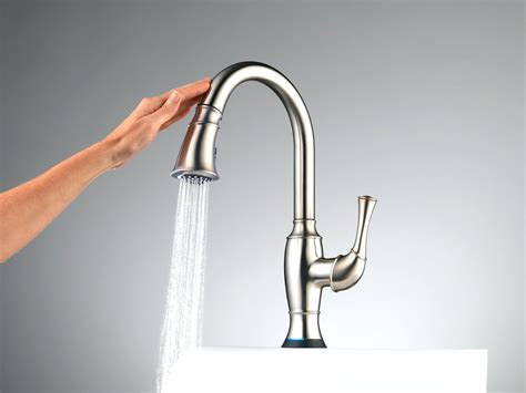 touch activated kitchen faucets touchless faucet kitchen review besto