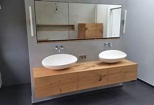 Waschtisch Für Aufsatzwaschbecken Aus Holz : waschtisch h ngend ~ Sanjose-hotels-ca.com Haus und Dekorationen