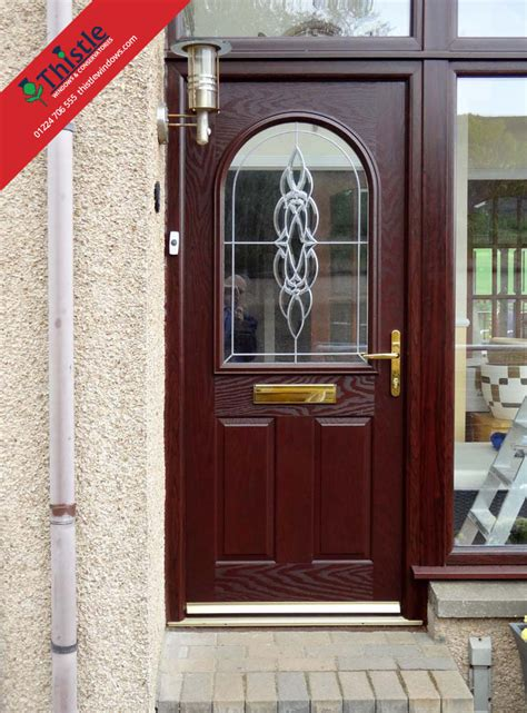 composite doors aberdeen thistle strong secure entrance doors