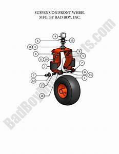 Bad Boy Parts Lookup 2007 Diesel Suspension Front Fork
