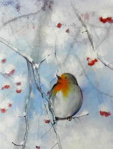Tutorial Inverno 01 come realizzare un dipinto con le