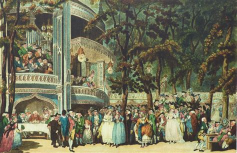 vauxhall gardens london regency history the cascade at vauxhall gardens