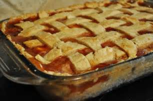 Peach Cobbler with Pie Crust