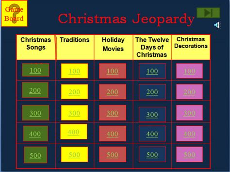 jeopardy template   word excel   format