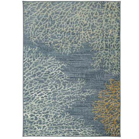 coral reef rug mohawk home coral reef multi 7 ft 6 in x 10 ft area rug