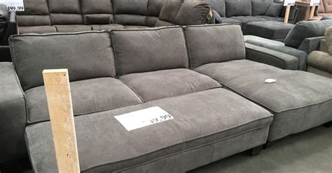 sectional sleeper sofa costco chaise sectional sofa with storage ottoman costco weekender