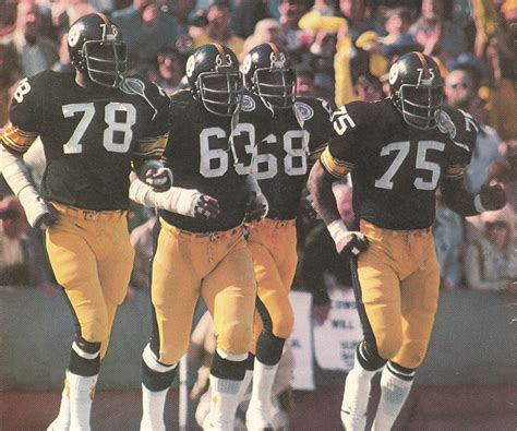 steelers the steel curtain steelers football sports museum