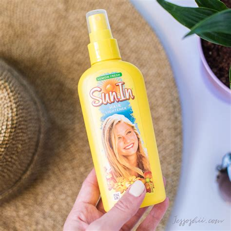 Sun Brown Hair by Review Sun In Hair Lightener My Results On Brown