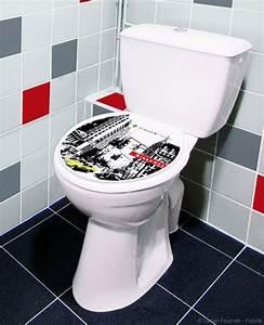 Modele De Wc : sticker pour abattant de toilette mod le in the city plage ~ Premium-room.com Idées de Décoration