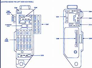 Ford Escort Lx 4 2001 Fuse Box  Block Circuit Breaker