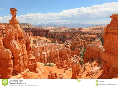 bryce canyon national park landscape utah usa stock