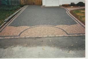 Concrete Paver Stone Driveway