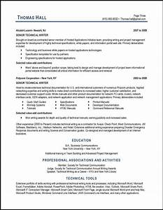 technical writer resume samples technical writer resume