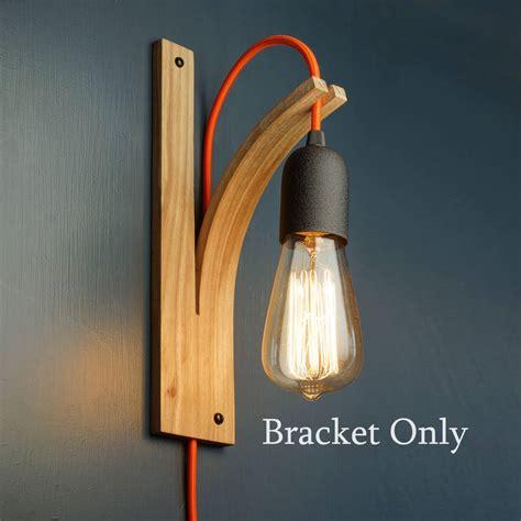 wall light bracket only by layertree notonthehighstreet com