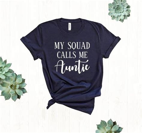 You will find all your favourite brands from yankee candle, star wars, disney and ty soft toys right here. Auntie Gifts My Squad Calls Me Aunt Shirt Best Auntie Aunt ...