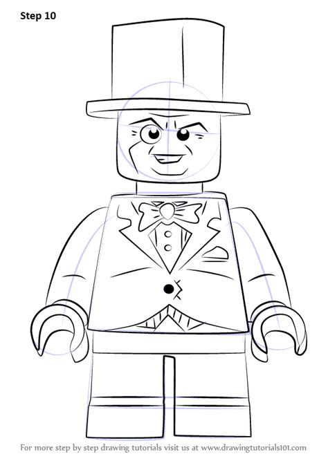 learn   draw lego  penguin lego step  step drawing tutorials