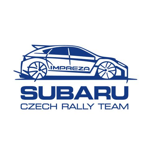 subaru rally logo rally car graphics