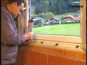 Fensterbank Einbauen Mörtel : montagevideo helopal innenfensterbank mit 2 komponenten montageschaum youtube ~ Yasmunasinghe.com Haus und Dekorationen