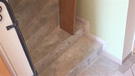 betontreppe verkleiden treppenverkleidung mit holz anleitung diybook de